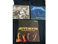 Job Lot 3 lps Metallica, caravan, spencer Davis group