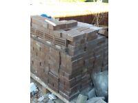 500 x brown bricks