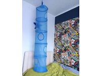 FANGST Kids Toy Storage IKEA 6 Compartment Net Hanging Storage Bedroom Organizer