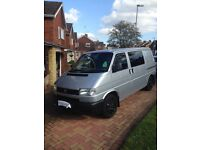 VW transporter campervan T4 2.5 tdi, 2003, mileage 104,000, tastefully converted to high spec