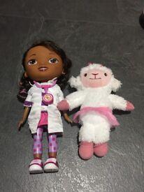 Interactive Doc McStuffins & Lambie