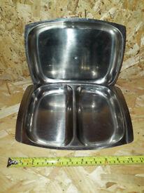 stainless steel kitchen ware
