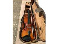 Full size acoustic-electric violin