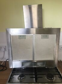 Kitchen hob, extractor fan, taps. . Largs