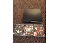 PS3 w/ 3 Games