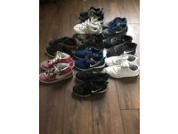 Size 5 joblot trainers