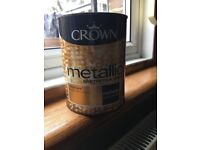 Crown metallic paint