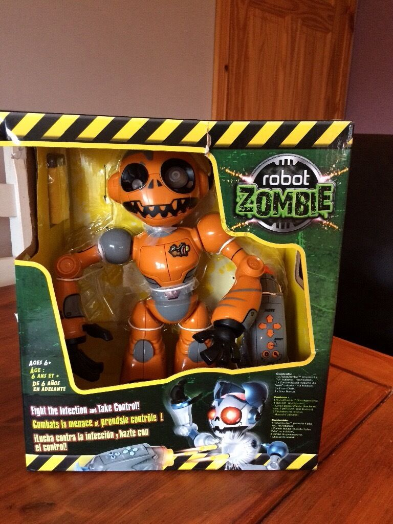 Robot Zombie remote control toy