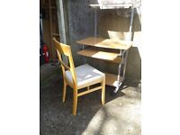Workstation/computer desk & chair - DELIVERY AVAILABLE