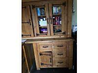 Solid pine handmade kitchen