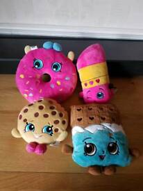 Shopkins plush soft toys