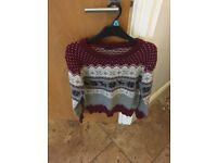 Lovely Xmas jumper size 14 primark (small)