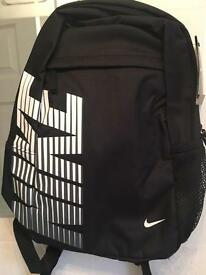 Nike back pack (ideal for school) black & navy available
