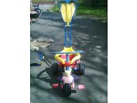 KIDS TRIKE. adjustable from toddler to 3/4 yrs old