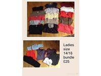 Ladies size 14/16 large bundle