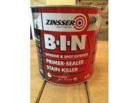 Zinsser B.I.N brand new