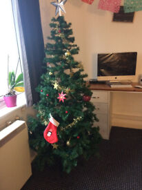 3ft Christmas Tree With Lights And Decorations From Argos In