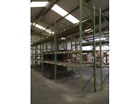 Heavy Duty Warehouse Racking and Mobile Safety Steps