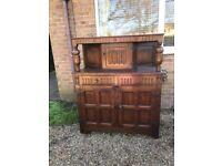 Solid Oak Cabinet/Drinks Cabinet, Sideboard