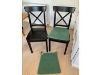 2 x IKEA Dining Chairs