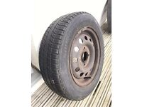 Runway Enduro 656 radial 165/65R13 tubeless tyre on wheel 6mm tread | Collect from IP1 2QE