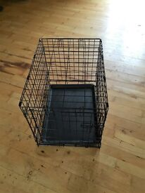 Dog Crate with Tray Only Used Once