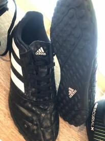 Adidas & Nike Football moulded and Astro turf boots.