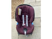 Cybex mamas and papas car seat with isofix