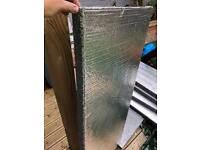 Insulation sheets like kingspan cavity heat loss building board
