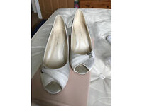 Wedding shoes size 5 (wide fit)