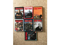 The Sopranos, complete DVD series 1-6 in very good condition
