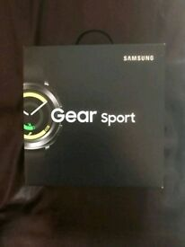 Samsung SM-R600NZKABTU Gear Sport Smartwatch (UK Version) -