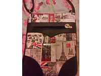 Michael Korrs cross body bag london scene