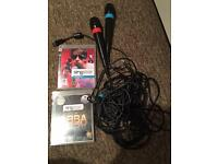 Singstar games with microphones for PlayStation 3