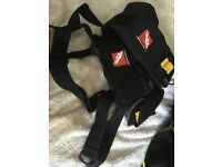Scuba diving Beaver weight harness large..and two bags for shot weight .