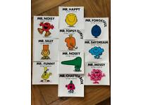 20 Mr Men Books