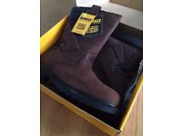 """Brand new DeWalt safety Rigger 2 10"""" Rigger boot with PU size 12"""