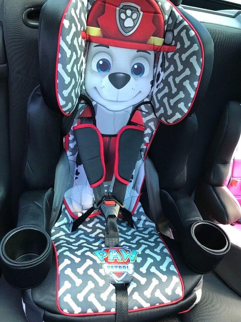 Kids Embrace Paw Patrol Marshall 123 Car Seat