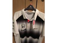 McLaren Honda Men's Gents Offical 2016 Team Polo Shirt