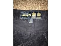 Musto Ladies Chord Trousers size 12