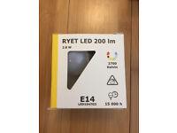 IKEA LED E14 bulb 2.8W boxed