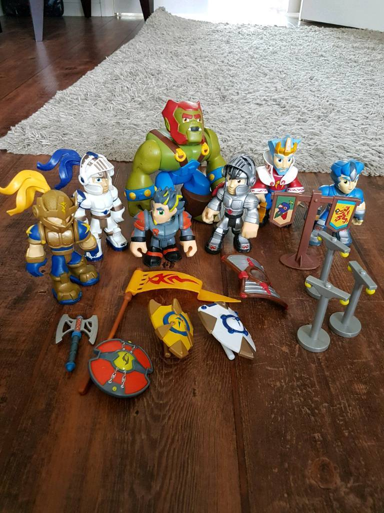 Knights and goblins toys