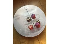 Next glass cake stand