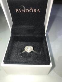 Genuine Pandora Heart Ring