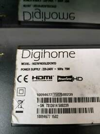"""Digihome 50"""" led tv parts"""