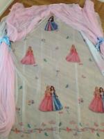 DISNEY BARBIE CURTAIN USED