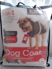 2 in 1 Dog Coat