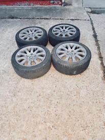 "BMW 17"" wheels rims set"