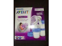 Avent manual breast pump NEW