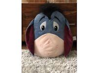 Eeyore Big Face Cushion - Authentic Disney